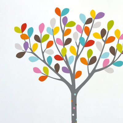 ADZif Ludo Colours in The Woods Wall Decal