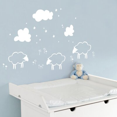 ADZif Piccolo Little Sheeps Wall Decal