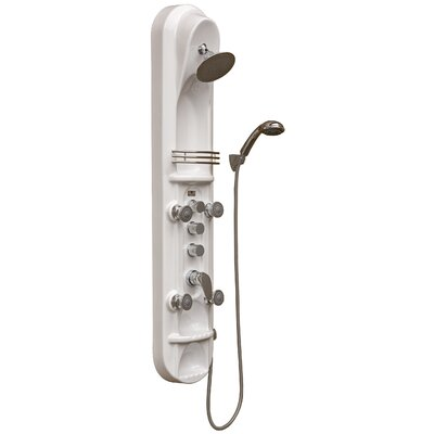 Pulse Showerspas Kailua ShowerSpa Diverter Shower Panel