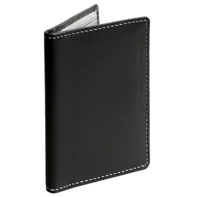 Stewart/Stand RFID Blocking Leather Exterior Driving Wallet