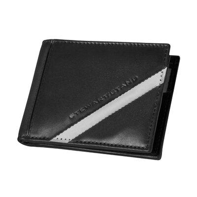 Stewart/Stand RFID Blocking Leather Tech Bill Fold Wallet