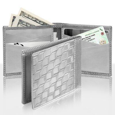 Stewart/Stand RFID Blocking Texture Bill Fold Wallet