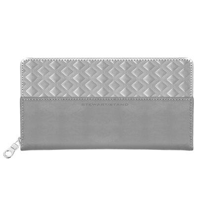 Stewart/Stand RFID Blocking Monochrome Zipper Travel Wallet