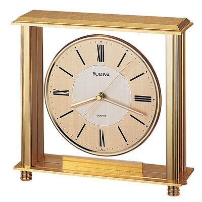 Bulova Grand Prix Mantel Clock