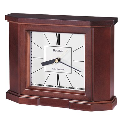 Bulova Altus Atomic Mantel Clock