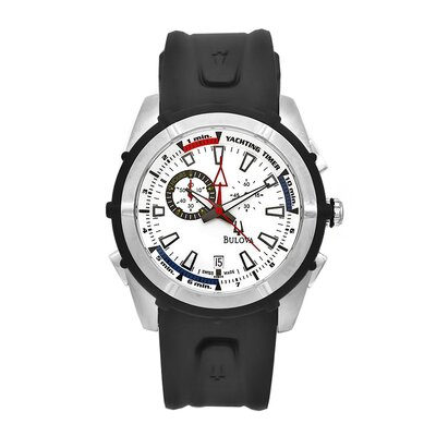 Bulova Men's Classic Chronograph Yachting Watch