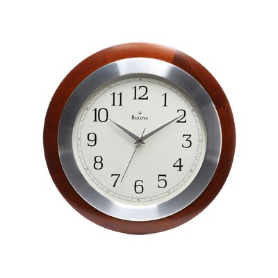 Bulova 14 Reedham Wall Clock Reviews Wayfair
