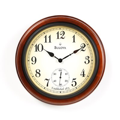 "<strong>Bulova</strong> 16"" Richmond Wall Clock"