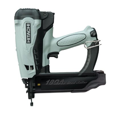 "Hitachi 2"" Gas Powered 18-Gauge Straight Finish Nailer"