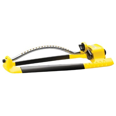 Robert Bosch Tool Turbo Heart Oscillate Sprinkler in Yellow