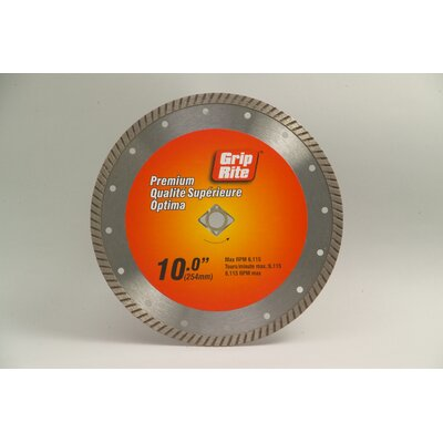 Grip-Rite Premium Turbo Diamond Blade