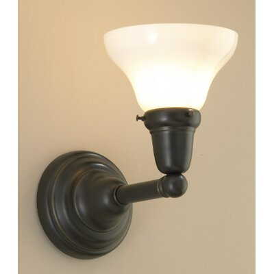 Norwell Lighting Coventry 1 Light Wall Sconce with Bell Shade