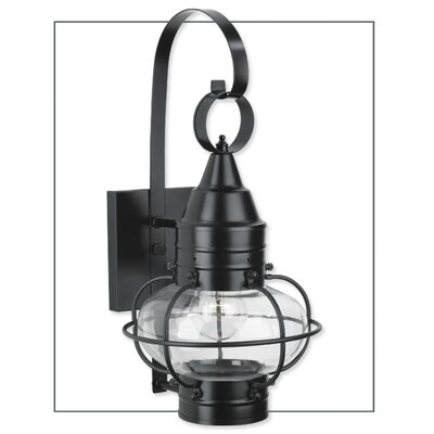 Classic Onion One Light Outdoor Small Wall Lantern