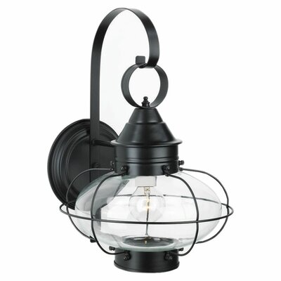 <strong>Norwell Lighting</strong> Cottage Onion Medium 1 Light Outdoor Wall Lantern