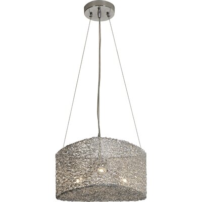 Trend Lighting Corp. Dante 1 Light Drum Pendant