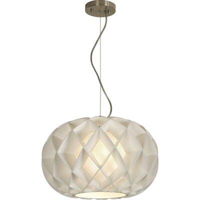 Trend Lighting Corp. Honeycomb 1 Light Globe Pendant