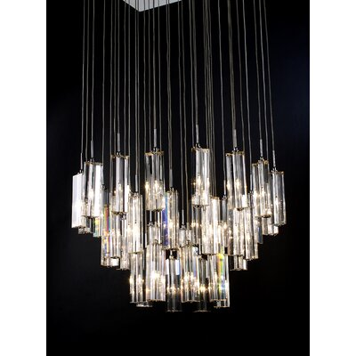 Trend Lighting Corp. Diamante 36 Light Crafted Chandelier