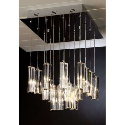 Trend Lighting Corp. Diamante 16 Light Pendant