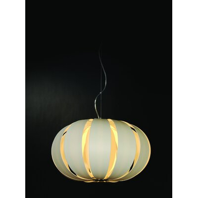Trend Lighting Corp. Pique 1 Light Oval Globe Pendant