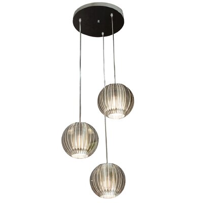 Trend Lighting Corp. Phoenix 3 Light Globe Pendant