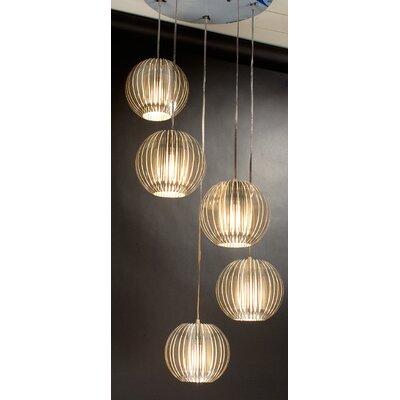 Trend Lighting Corp. Phoenix 5 Light Globe Pendant