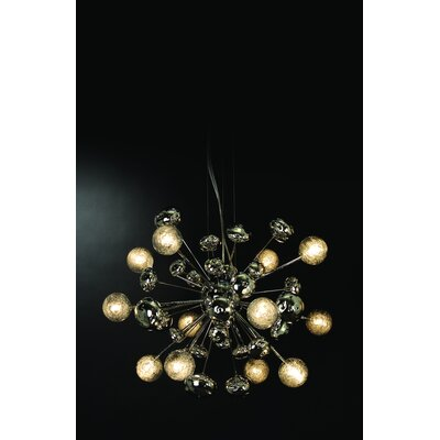 Trend Lighting Corp. Starburst 12 Light Chandelier