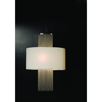 Trend Lighting Corp. Waltz 3 Light Oval Drum Foyer Pendant