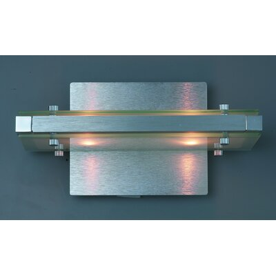 Trend Lighting Corp. Plano 2 Light Wall Sconce