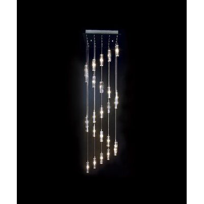 Trend Lighting Corp. Icarus 25 Light Chandelier with Shade