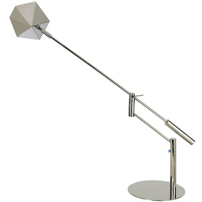 Trend Lighting Corp. Slant Task Table Lamp with Pyramidion Shade