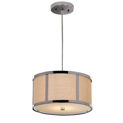 Butler 2 Light Medium Drum Foyer Pendant