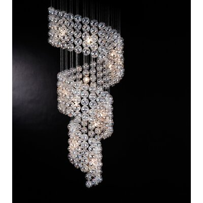 Trend Lighting Corp. Cascade 15 Light Chandelier