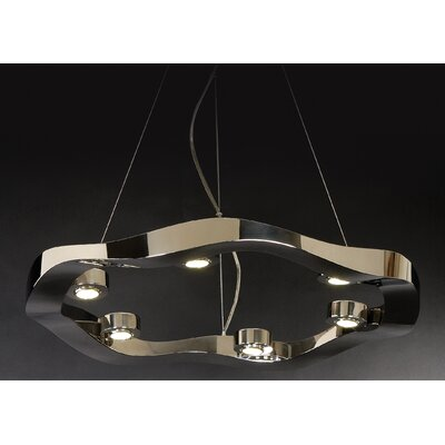 Trend Lighting Corp. Halo 6 Light Medium Pendant