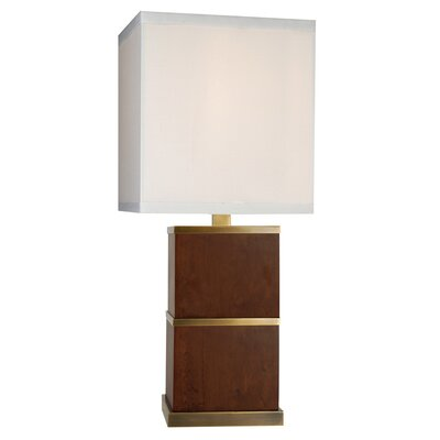 """Trend Lighting Corp. Doric 33"""" H Table Lamp with Square Shade"""