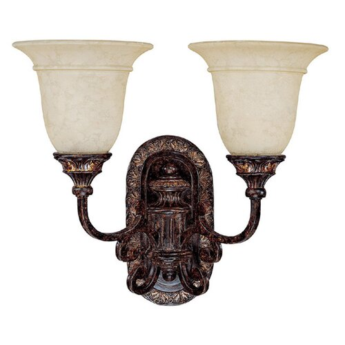Capital Lighting Chesterfield 2 Light Wall Sconce