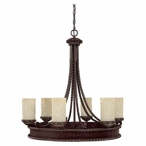 Capital Lighting Highlands 6 Light Chandelier