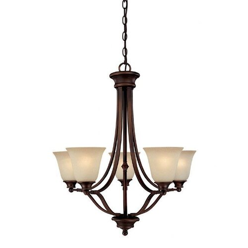 Capital Lighting Belmont 5 Light Chandelier