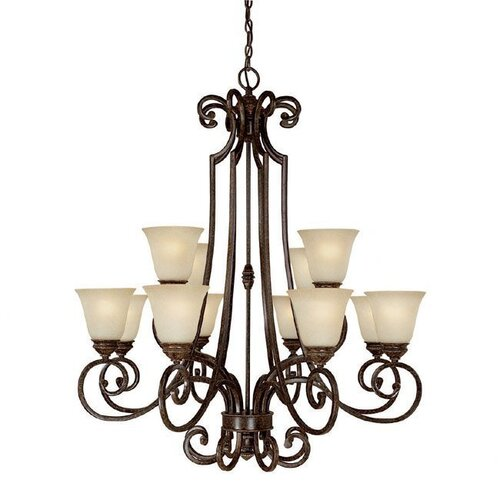 Capital Lighting Barclay 12 Light Chandelier