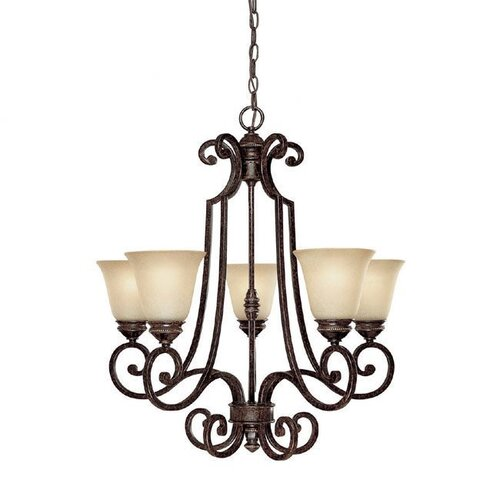 Capital Lighting Barclay 5 Light Chandelier