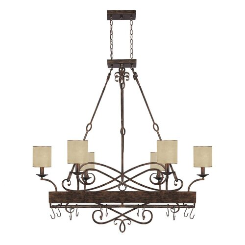Reserve 8 Light Potrack/Chandelier