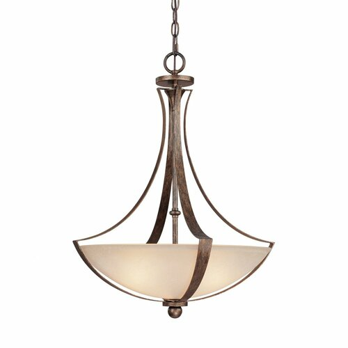 Capital Lighting Soho 3 Light Inverted Pendant