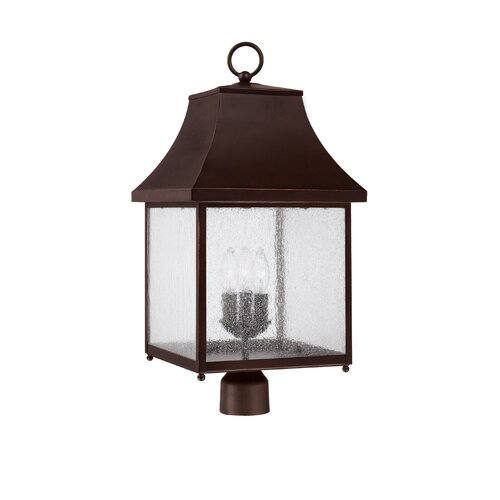 Capital Lighting Collins Hill Outdoor Post Lantern