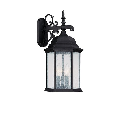 Capital Lighting Main Street 3 Light Outdoor Wall Lantern