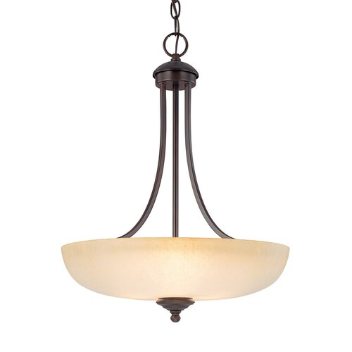 Chapman 3 Light Inverted Pendant