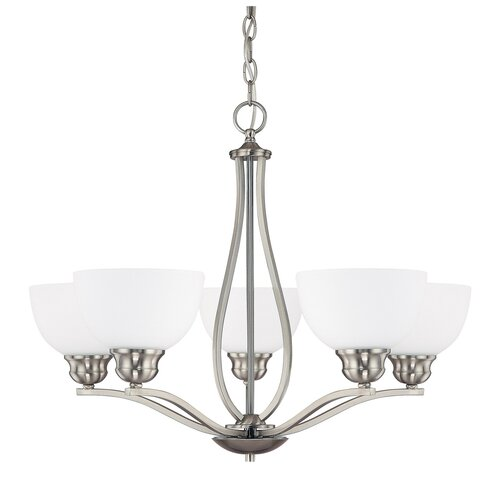 Capital Lighting Stanton 5 Light Chandelier