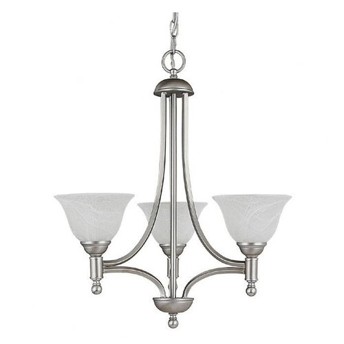 Capital Lighting Metropolitan 3 Light Chandelier