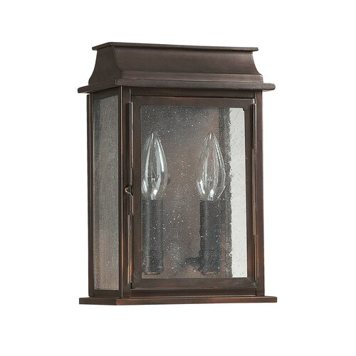 Capital Lighting Bolton 2 Light Outdoor Wall Lantern