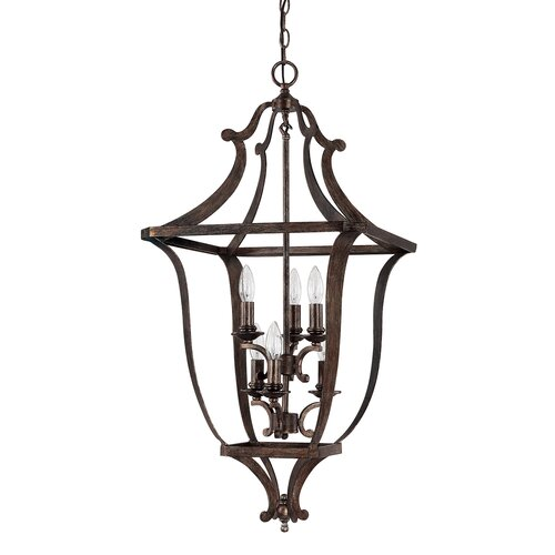 Corday 6 Light Foyer Pendant