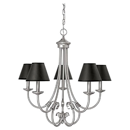 Capital Lighting Hometown 5 Light Chandelier