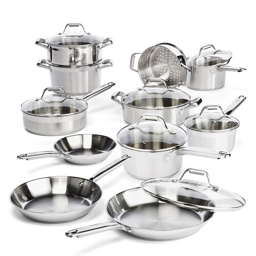 Elegance 18-Piece Cookware Set